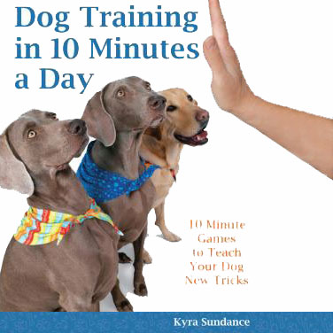 Dog training in 10 minutes a day book