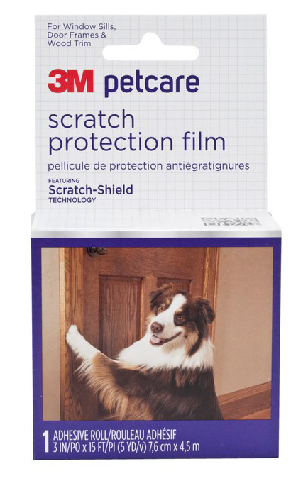 3M Petcare Scratch Protection Films are part of a new line of pet mess prevention and clean up products from 3M Company.