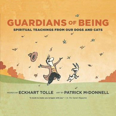 Guardians of being book about wonder and joy of being with dogs and cats