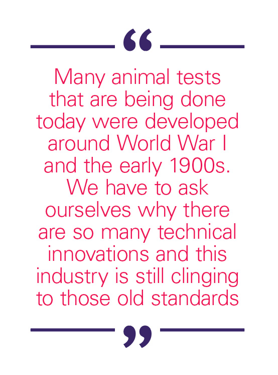 animal testing in cosmetic industry and The largest ever petition calling for an end to cosmetic animal testing globally has been presented to the un.
