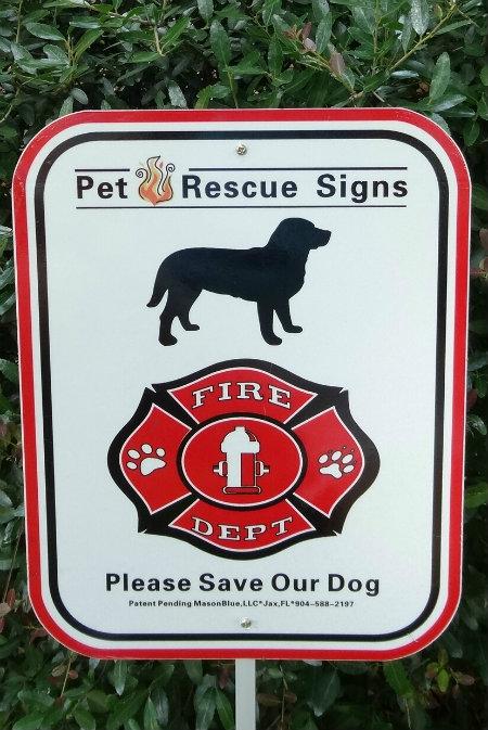 Masonblue Llc Presents Pet Fire Rescue Signs Modern Dog Magazine