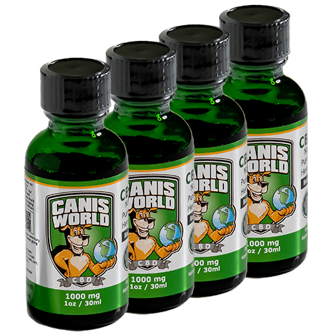 Canis World CBC tinctures