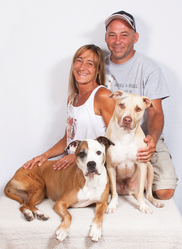 How A Rescued Pit Bull Saved Laura Morgillo's Life