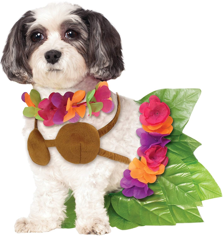 Rubie's hula girl dog costume