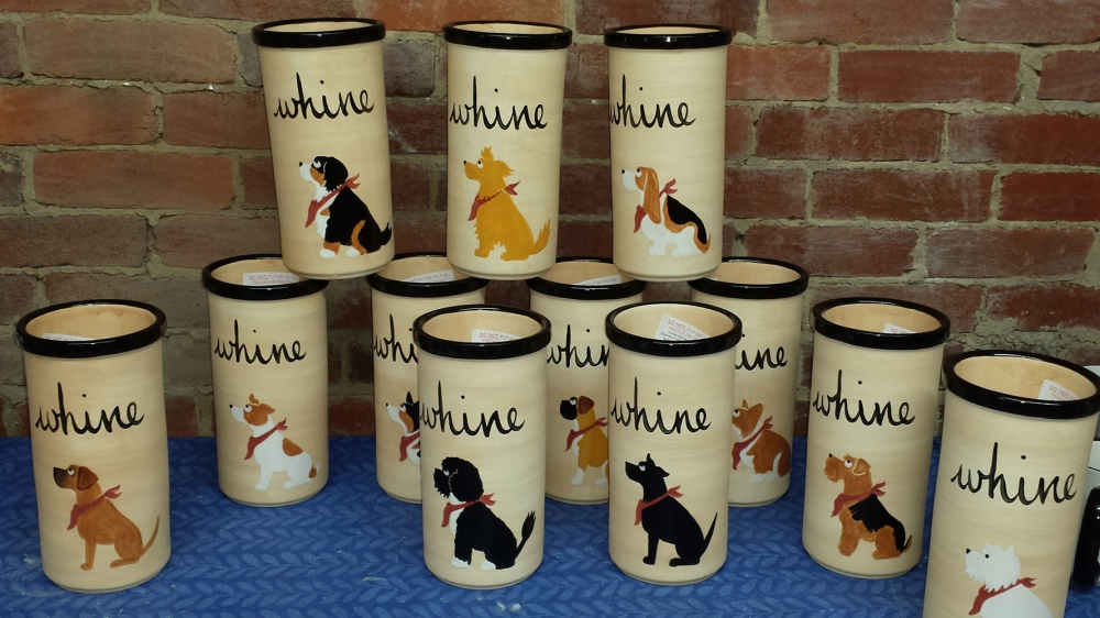 "Anything Dogs ""Whine"" Coolers"