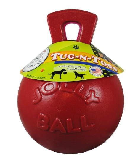 Jolly Pets Tug-n-Toss' Heavy Duty Chew Ball