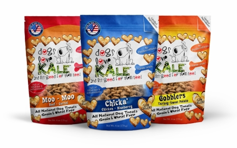 Dogs Love Kale Wheat and Grain Free Treats