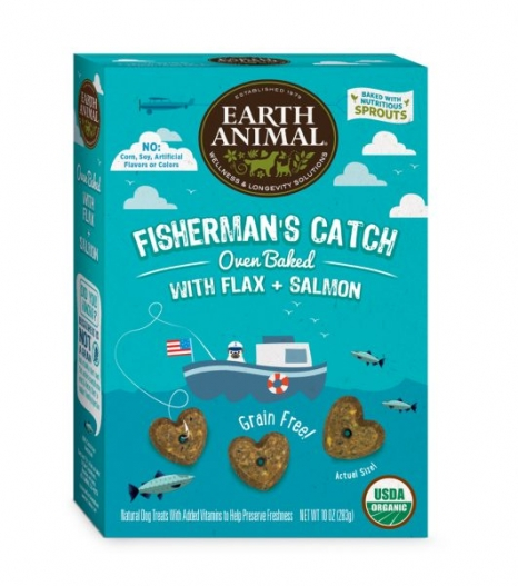 Earth Animal Salmon and Flax