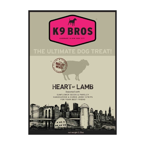 K9 Bros - Heart of Lamb Dog Treats