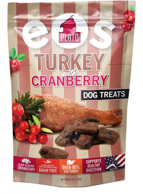 Plato EOS Turkey with Cranberry Dog Treats