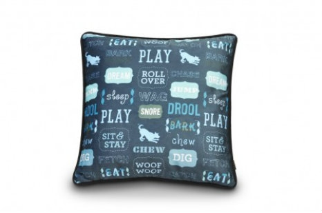 accent pillow for dog lovers