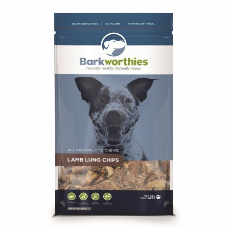 Barkworthies Lamb Lung Chips