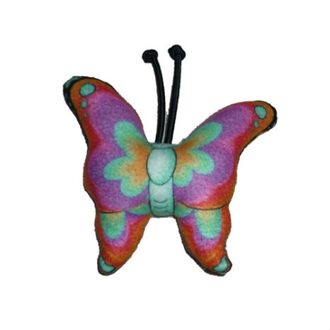 Eco-friendly Butterfly Dog Chew Toy