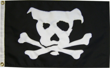 Pirate Dog Flag | Mode...