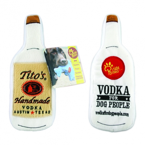 Tito's Vodka for Dog People Plush Toy