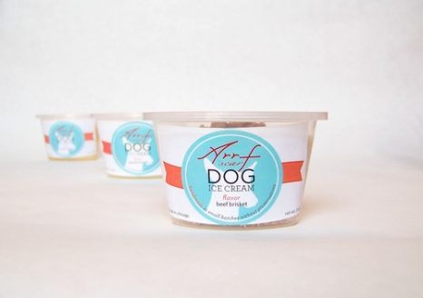 Arrfscarf Ice Cream for Dogs