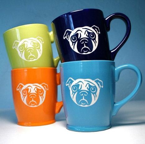 Sad Pug Mug