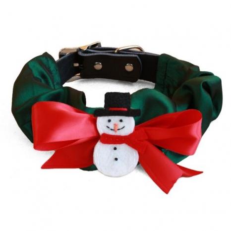 Snowman Collar Cozy
