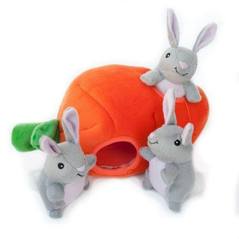 Zippy Burrow  Bunny 'n Carrot Plush Toy