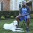 Football Players Love Their Dogs