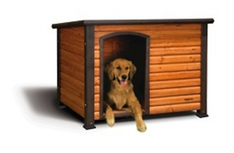 The Outback Log Cabin  Doghouse from Precision Pets