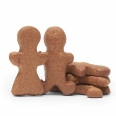 Gingerbread dog treats for an awesome holiday snack