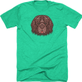 Goldendoodle Goods Newfoundland Sticker T-Shirt