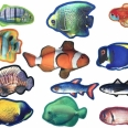 Dogline Tropical Fish Toys