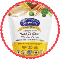 Win 1 of 10 bags (12 oz) of Stewart Raw Naturals Freeze Dried Dog Food
