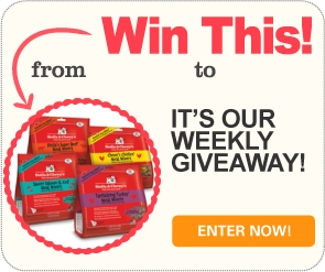 Win 1 of 5 prize packs from Stella & Chewy's