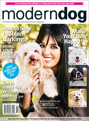 Modern Dog Magazine Spring 2015 Cover