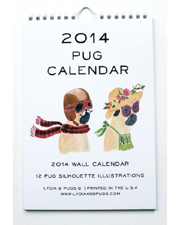 Pug Calendar
