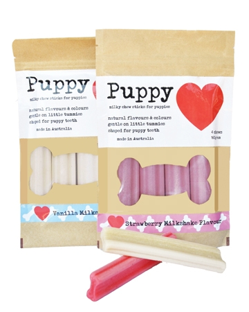 Puppy Love dental chew from 26 Bars And A Band