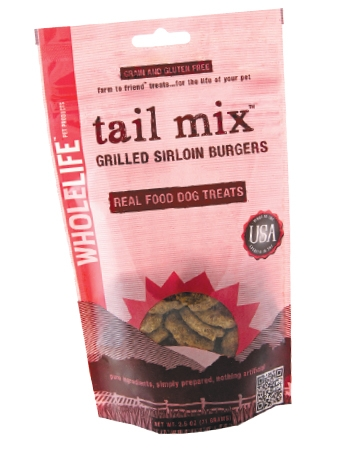 Tail Mix Grilled Sirloin Burgers