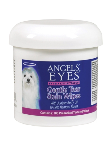 Gentle Tear Stain wipes from Angels' Eyes