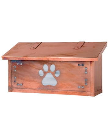 Brass mailbox from Anything Dogs