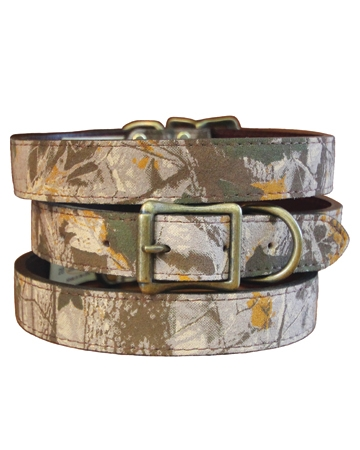 Camo collar by Auburn Leathercrafters