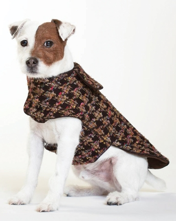 Avery Houndstooth coat from Canine Kids Outfitters