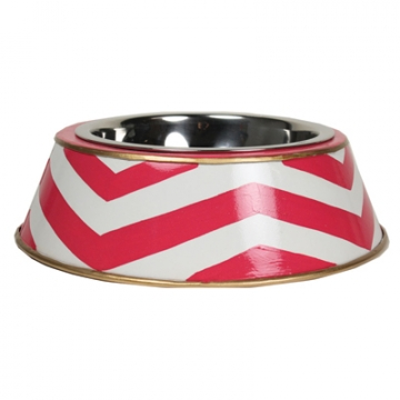 Chevron Patterned Bowl