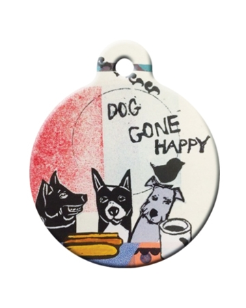 Pet ID tags from Dog Tag Art
