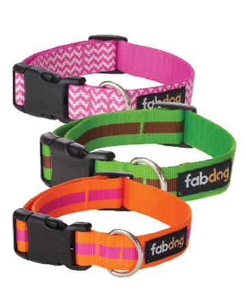 Nylon collars by Fabdog