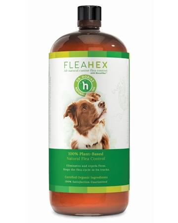 FleaHex flea control from Dr. Dobias