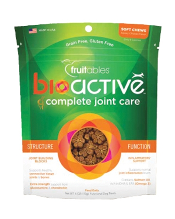 Bioactive joint care treats from Fruitables