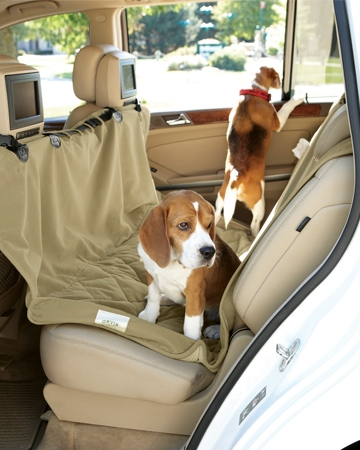 Deluxe Microfiber Car Hammock Seat Protector by Orvis