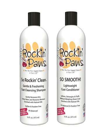 So Fresh n' So Clean Gentle Coat Cleansing Shampoo by Rockin' Paws