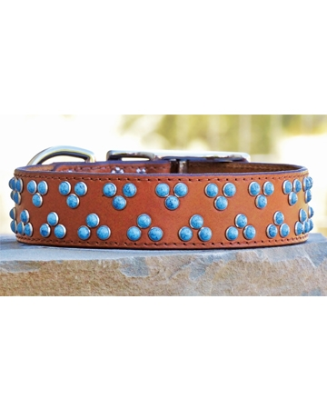 Leather collars from Ruff Puppies