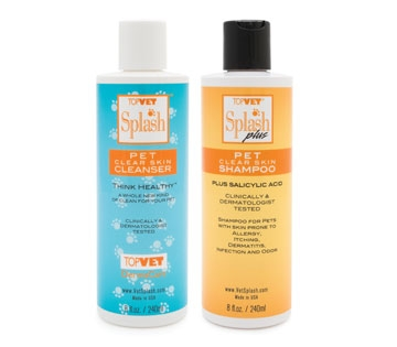 Splash Plus pet shampoo