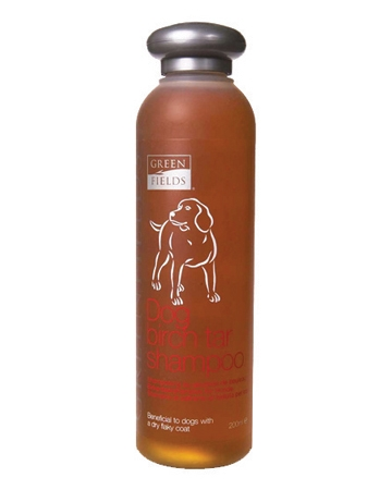 Greenfields Care Birch Tar Shampoo from Unison Pet Supply