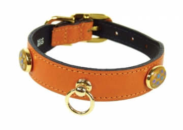 Leather Collar from Hartman and Rose