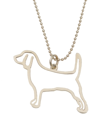 Beagle pendant by Chester and Company